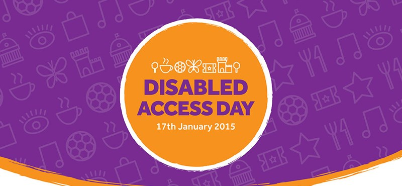 An image of the Disabled Access Day logo.