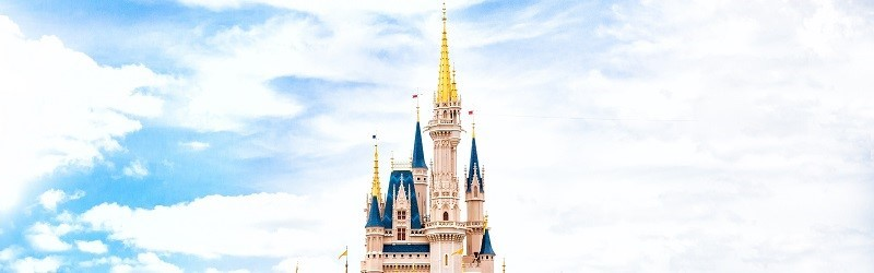 Photo of the Disney Castle.