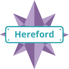Hereford Explorer Badge