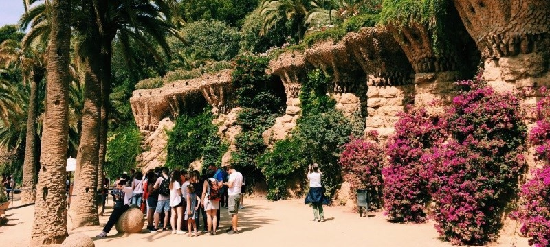 Photo of Park Guell.