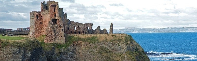 Photo of Tantallon Castle.