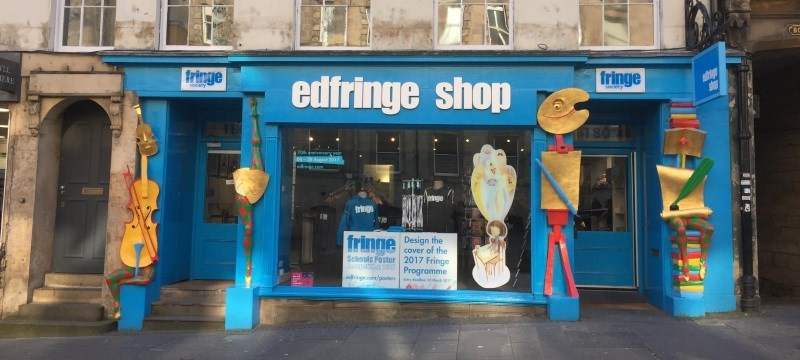 Photo of Fringe shop.