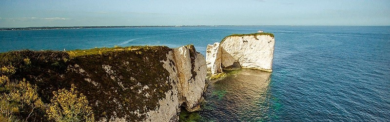 Photo of the Dorset Coast.