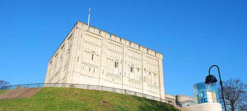 Photo of Norwich Castle.