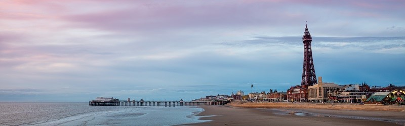 Photo of Blackpool and Blackpool Tower.