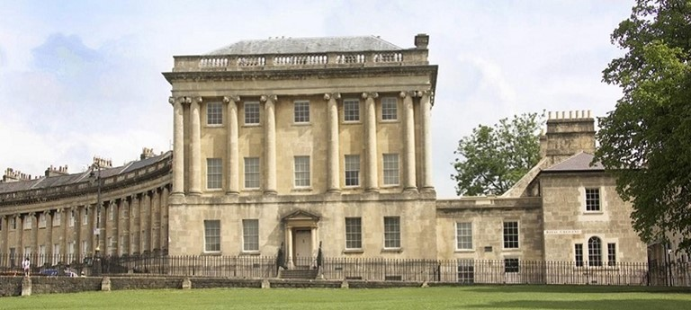 Photo of No. 1 Royal Crescent.