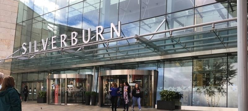 Photo of Silverburn Shopping Centre exterior.