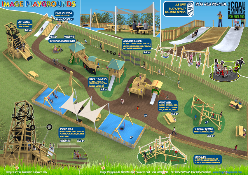 Map of the new playground.