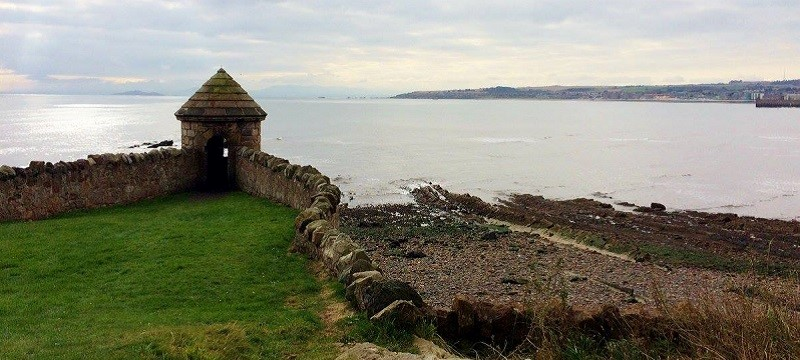 Photo of the coast at Kirkcaldy.
