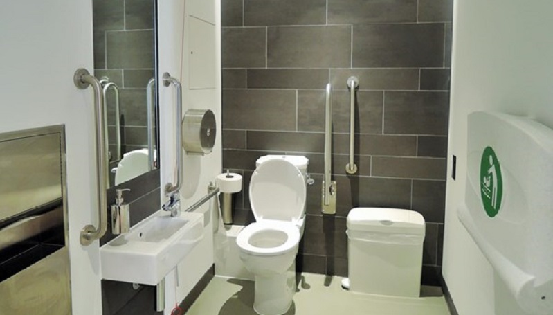 Photo of the accessible toilet at Charterhouse.