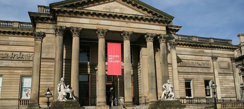 Photo of the exterior of Walker Art Gallery.