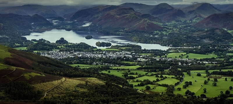 Photo of Cumbria landscape.