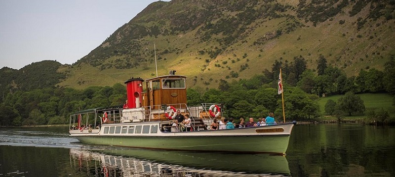Photo of an Ullswater Steamer.