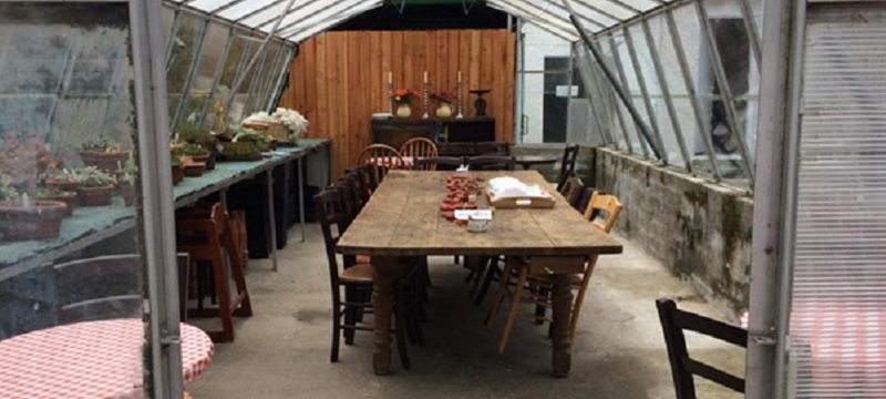 Photo of The Potting Shed Tearoom.