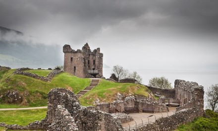 I've been to Urquhart Castle