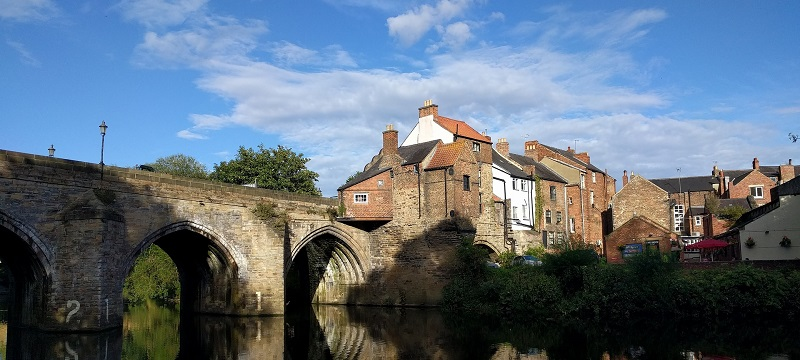 Photo of a bridge in Durham.