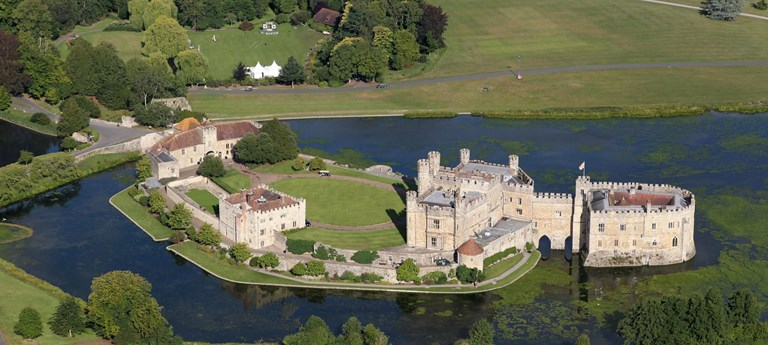 Photo of Leeds Castle.