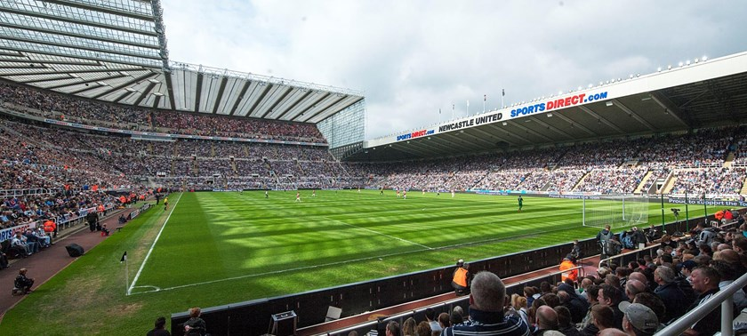 Photo of St James' Park.