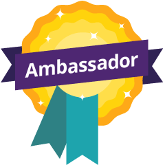 Ambassador Euan's Guide Badge