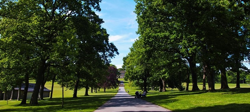 Photo of Roundhay Park.