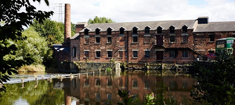Photo of Thwaite Mills.