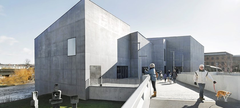 Photo of The Hepworth Wakefield.