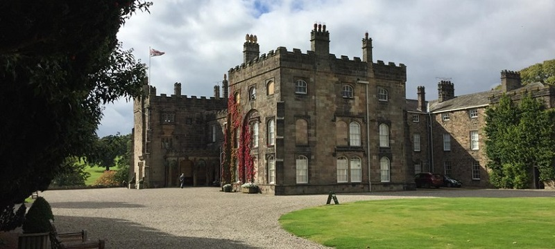 Photo of Ripley Castle.