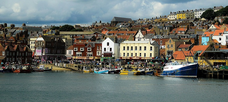 Photo of Scarborough seafront.
