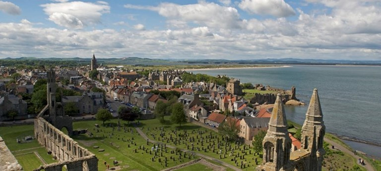Photo of St Andrews Cathedral.