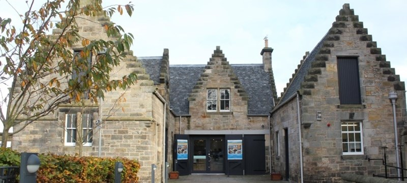 Photo of the Museum of the University of St Andrews.