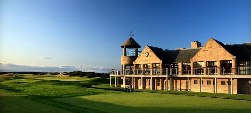 Photo of St Andrews Links Clubhouse.
