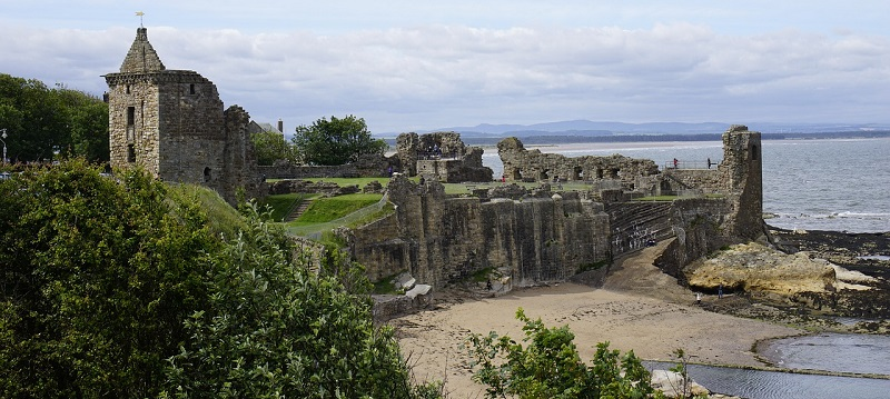 Photo of St Andrews Castle.