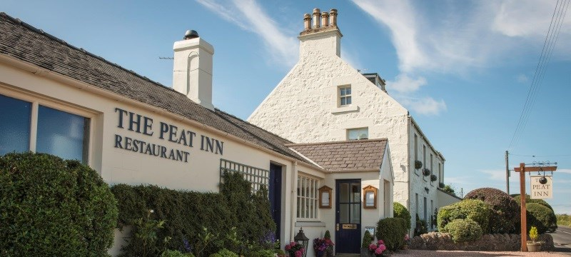 Photo of The Peat Inn restaurant.