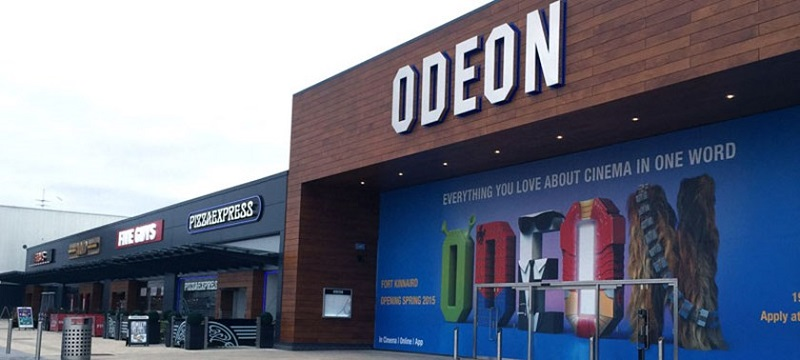 Photo of the Odeon cinema.