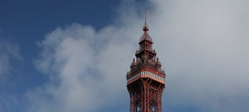 Photo of the Blackpool Tower.