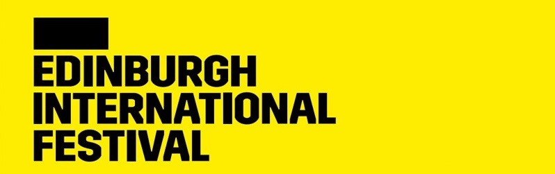 Photo of the Edinburgh International Festival banner.