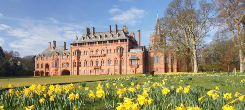 Photo of Mount Stuart house.