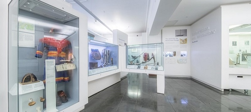 Photo of The Polar Museum.
