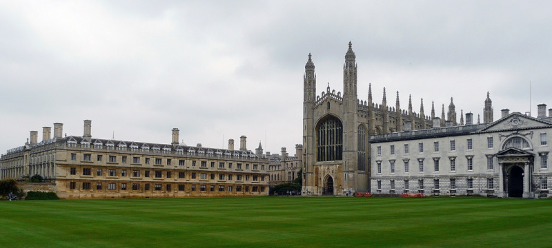 Photo of Kings College taken from The Backs.