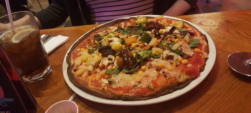 Photo of a pizza from Pizza Punks in Glasgow.