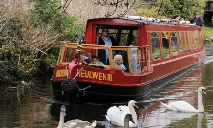Adapted canal boat trips in Welshpool