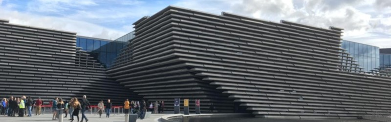 Photo of V&A Dundee.