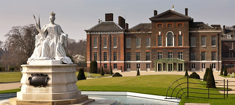 Photo of Kensington Palace and Gardens.