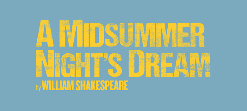 Photo of A Midsummer Night's Dream poster.