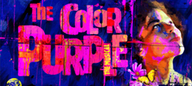 Photo of The Color Purple poster.