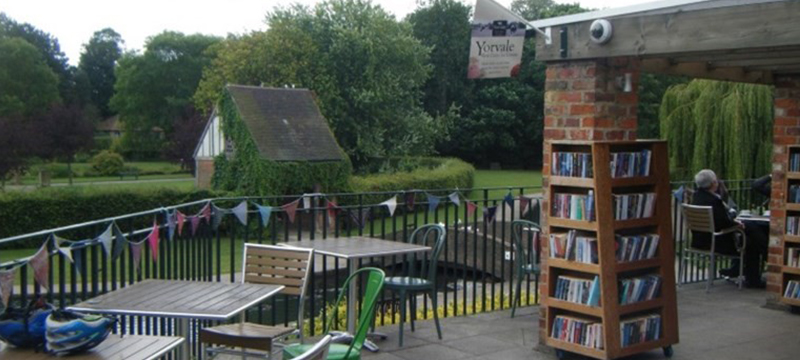 Photo of Rowntree Park Reading Cafe, York.