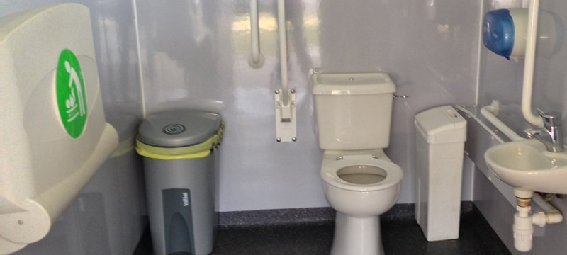 Photo of accessible toilet, Blair Drummond Safari Park.