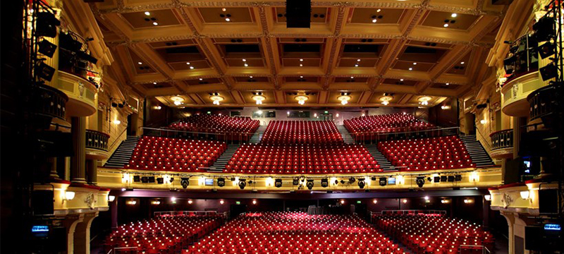 Photo of Birmingham Hippodrome interior.
