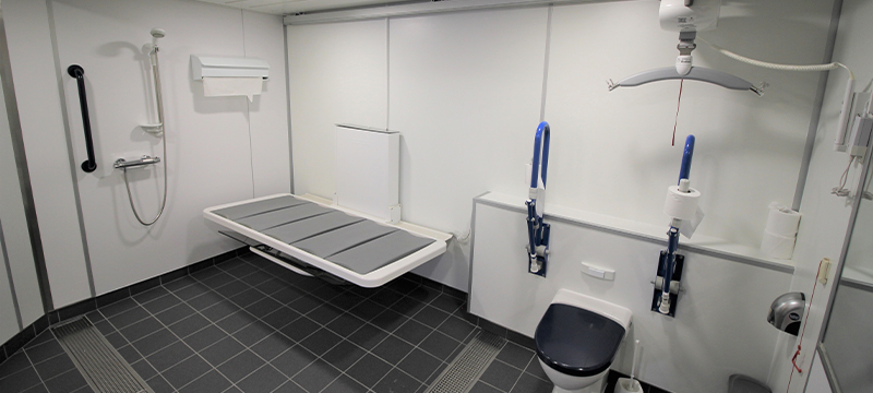 Image of new Changing Places facilities on NorthLink © NorthLink Ferries