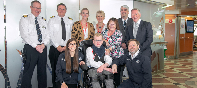 Image from launch of Changing Places on NorthLink © NorthLink Ferries